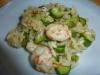 risotto di gamberi e zucchine