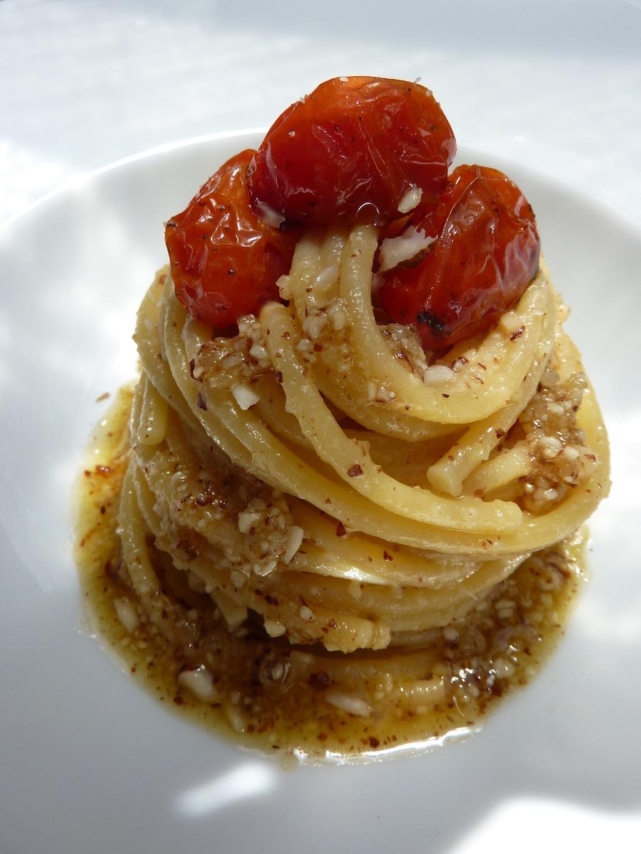 spaghettonipestomandorle